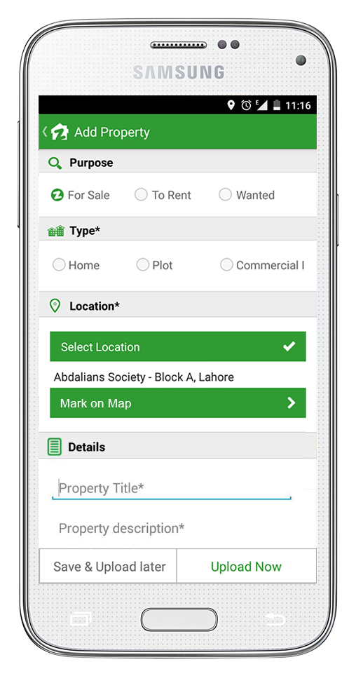 Zameen com rolls out Add Property feature in its mobile app