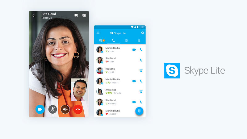 skype lite android